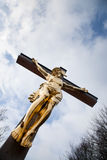 Crucificado Fotografia de Stock Royalty Free