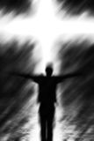 Crucification. Artistic image representing the crucification royalty free stock photography