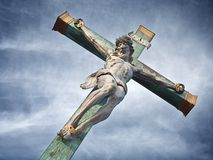 Crucified Stock Images