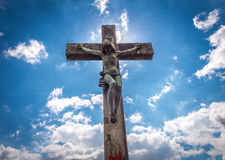 Crucified Christ Stock Photo