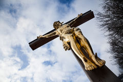 Crucified Stock Image