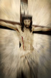 Crucified Jesus Christ royalty free stock photo