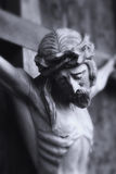 Crucified Jesus Christ (styled retro) Royalty Free Stock Photography