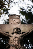 Crucified Jesus Statue Royalty Free Stock Image
