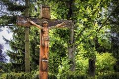Crucifijo Fotografía de archivo libre de regalías