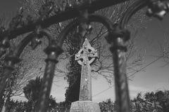 Crucifijo céltico imagen de archivo