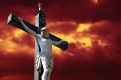 Crucifissione Immagini Stock