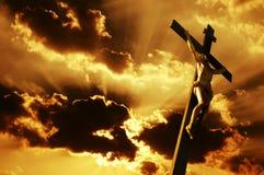 Crucifissione Fotografie Stock Libere da Diritti