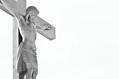 Crucifissione di Jesus Immagini Stock