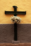 crucifix ξύλινο στοκ εικόνες με δικαίωμα ελεύθερης χρήσης