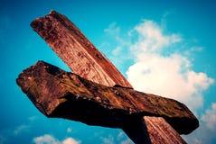 Crucifix πάθος Πάσχας Ιησούς Χριστός Στοκ εικόνες με δικαίωμα ελεύθερης χρήσης