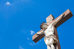 crucifix Στοκ εικόνα με δικαίωμα ελεύθερης χρήσης