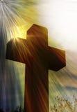 crucifix stock de ilustración