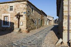 A Crucifix at Castrillo de los Polvazares Stock Image