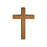 Crucifix christian or catholic icon image. Vector illustration design Stock Photo