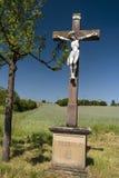 Crucifix dans le Spessart photos stock