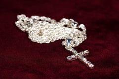 Crucifix de diamant Photos stock