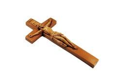 Crucifix de madeira fotos de stock royalty free