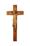 Crucifix de madeira imagem de stock royalty free