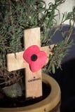Crucifix de souvenir. images libres de droits