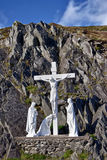 Crucifix, Dingle peninsula, Ireland Royalty Free Stock Image