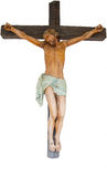 Crucifix isolated Stock Image