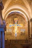 Crucifix with Jesus Stock Photos