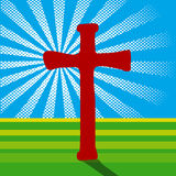 Crucifix and Light Royalty Free Stock Photo
