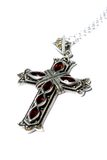 Crucifix necklace D Royalty Free Stock Photo