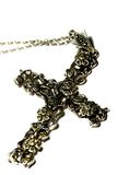 Crucifix necklace A Stock Image