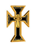 Crucifix ornate 3D Stock Images