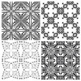 Crucifix pattern Set Stock Photography