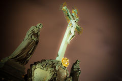 Crucifix - prague Stock Images