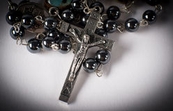 Crucifix Rosary Royalty Free Stock Photos