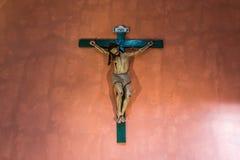Crucifix in Santa Catalina monastery Arequipa Peru Stock Images
