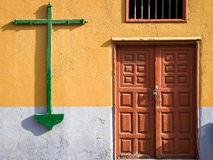 Crucifix in Santa Cruz, Tenerife, Spain Stock Image
