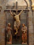 Crucifix - Santiago de Compostela photographie stock