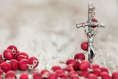 Crucifix with selective focus Royalty Free Stock Photo
