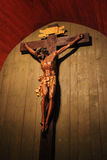 Crucifix in St. John Chapel in Wieliczka Royalty Free Stock Photos