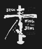 Crucifix. Symbolic image of the crucifixion of Jesus Christ Royalty Free Stock Photo