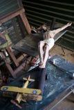 crucifix thrift καταστημάτων του Ιησ&omicro Στοκ Εικόνες