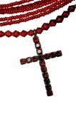 Crucifix vermelho foto de stock royalty free