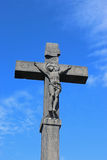 Crucifix, Volvic Royalty Free Stock Image