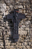 Crucifix on the wall Stock Image