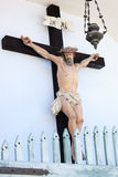 Crucifixed Jesus statue Stock Image