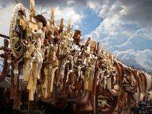 Crucifixes για την πώληση Στοκ φωτογραφίες με δικαίωμα ελεύθερης χρήσης