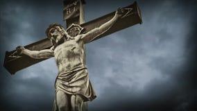 Crucifixión. almacen de metraje de vídeo