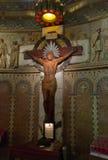 Crucifixión del Jesucristo Foto de archivo