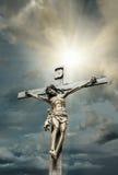 Crucifixión del Jesucristo Imagenes de archivo