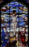 Crucifixión, Jesús en la cruz Imagen de archivo